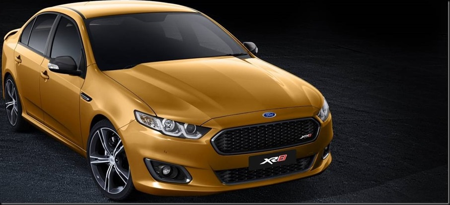 Banner 2014 Ford Falcon XR8 gaycarboys
