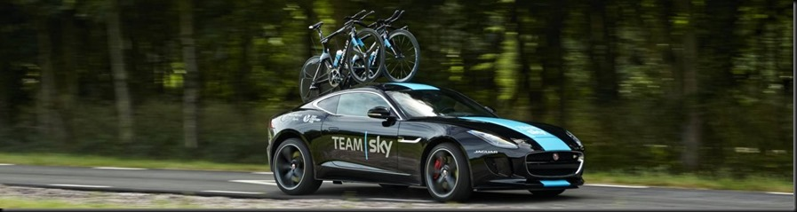 banner jaguar F-Type Concept To Support Team Sky gaycarboys