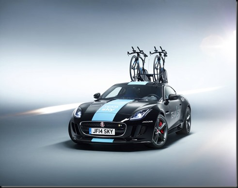 jaguar F-Type Concept To Support Team Sky gaycarboys (1)
