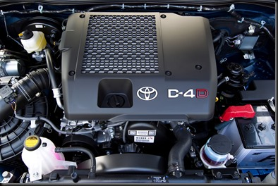 2011 Toyota HiLux Turbo Diesel engine
