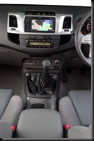 2011 Toyota HiLux SR5 4x4 manual interior