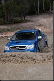 Australia's best-selling 4WD: Toyota's HiLux. (Toyota HiLux SR5 4x4 turbo-diesel shown)