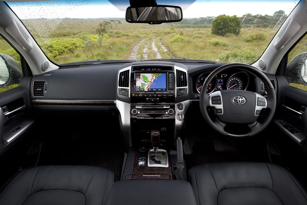 ... expect from a Toyota, especially one that comes with so much gravitas