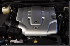 2007 Toyota LandCruiser 200 V8 petrol engine