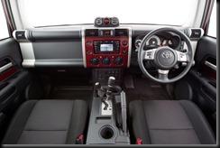 2011 Toyota FJ Cruiser interior