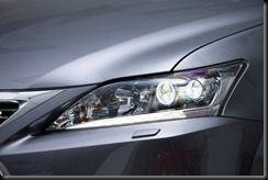 2014 Lexus CT 200h headlamp
