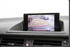 2014 Lexus CT 200h reversing camera