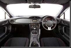 2012 Toyota 86 GT interior