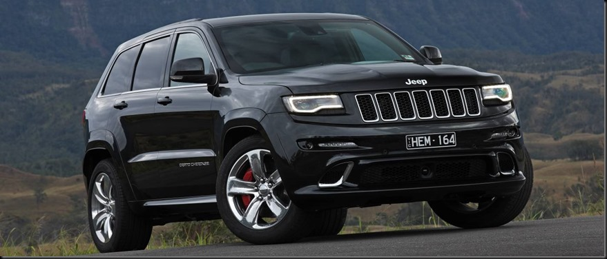 BANNER Jeep Grand Cherokee SRT gaycarboys