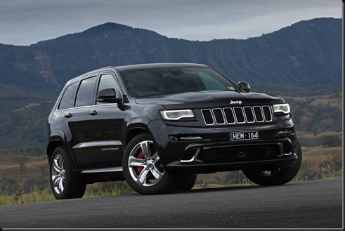 Jeep Grand Cherokee SRT gaycarboys