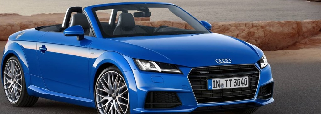 Marvelous Paris Motor Show  Audi TT Roadster Banner