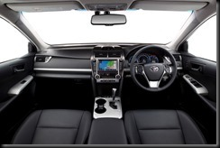2012 Toyota Camry Hybrid - Camry HL interior