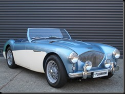 Australian-delivered 1954 Austin-Healey 1004 BN1 roadster gaycarboys