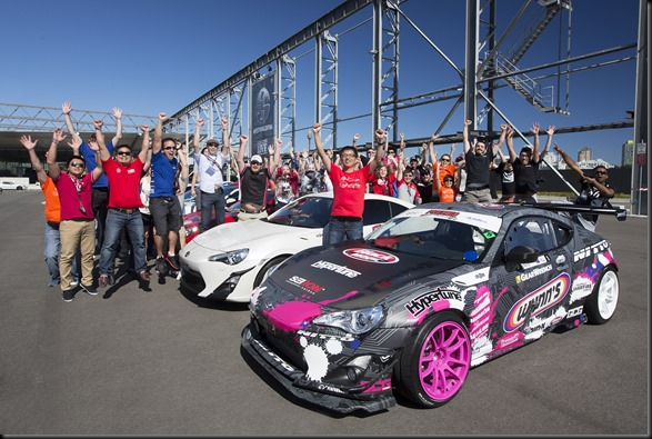 Attendees' Toyota 86s on display at the Festival of 86 gaycarboys (3)