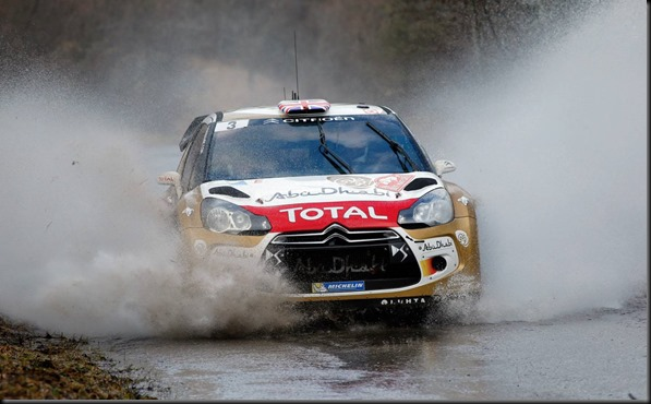 Citroen World Rally team competing in the 2014 Monte Carlo Rally  gaycarboys
