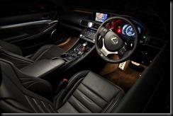 2014 Lexus RC 350 F Sport ambient lighting