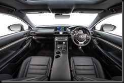 2014 Lexus RC 350 Sports Luxury interior