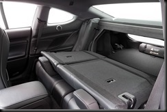 2014 Lexus RC 350 Sports Luxury rear seats folded