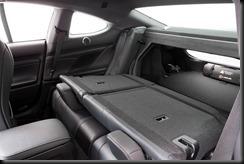 2014 Lexus RC 350 Sports Luxury rear seats folded
