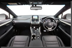 2014 Lexus NX 300h F Sport
