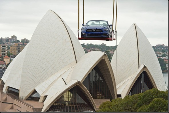 2015 Mustang is taking centre stage at Sydney New Year's Eve celebrations (3)
