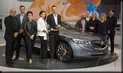 Buick Avenir Wins Two EyesOn Design Awards at NAIAS