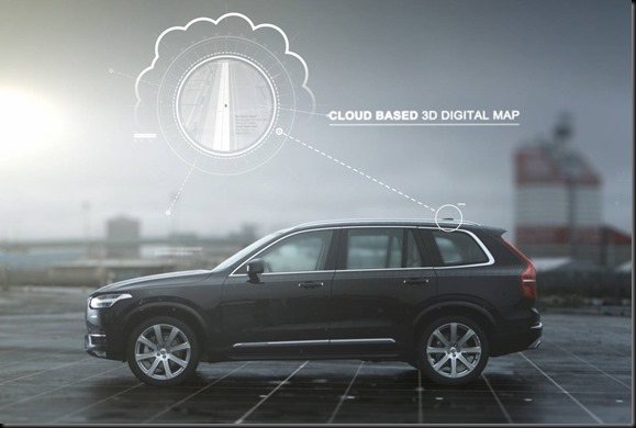 Autonomous drive technology – Cloud-based 3D digital map