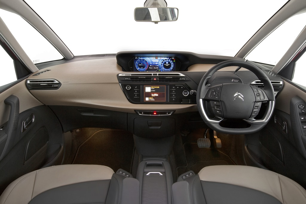 First drive citro n launches their snazzy c4 picasso gaycarboys com - C4 picasso interior ...