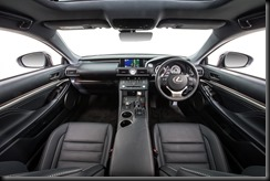 2014 Lexus RC 350 Sports Luxury interior