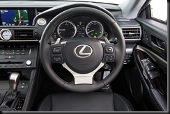 2014 Lexus RC 350 Sports Luxury steering wheel