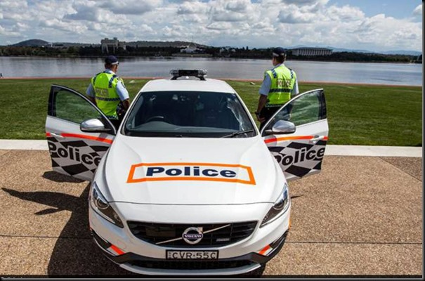 S60 T6 R-Design joins ACT Police gaycarboys (1)