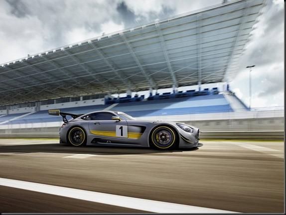 Rennwagen Mercedes-AMG GT3 Genf 2015; Racecar Mercedes-AMG GT3 Geneva 2015