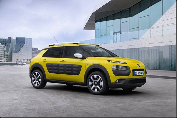 The Citroen C4 Cactus will launch in Q1, 2016 gaycarboys