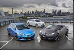 Holden Astra VXR, Insignia VXR, and Cascada gaycarboys