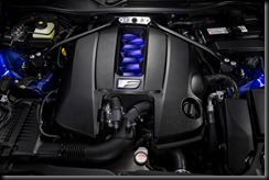 2015 Lexus RC F 5.0-litre V8 engine
