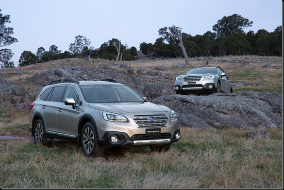 MY15 Subaru Outback