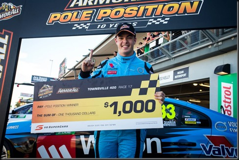 Scott McLaughlin claimed his best finish of the 2015 V8 Supercars  gaycarboys (2)