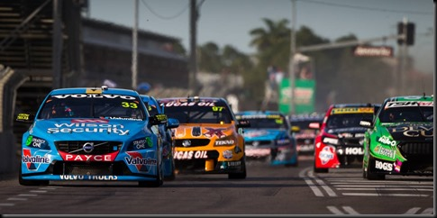 Scott McLaughlin claimed his best finish of the 2015 V8 Supercars  gaycarboys (3)