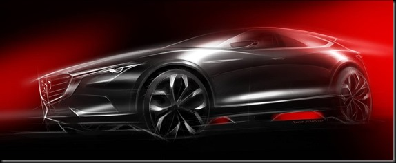 Mazda KOERU crossover concept at the Frankfurt Motor Show GAYCARBOYS