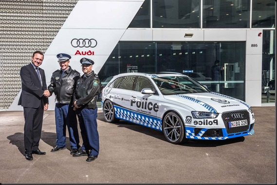 NSW Police Audi RS 4 Avant Gaycarboys