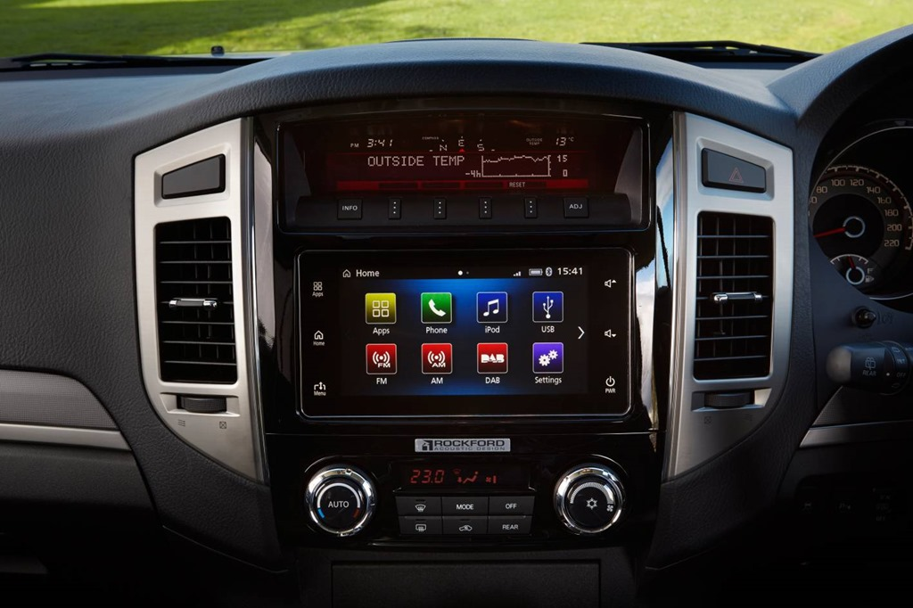 2016 Pajero First With Mitsubishi S In Car Smartphone