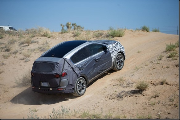 Death Valley hot weather test for all-new Kia Sportage GayCarBoys (2)