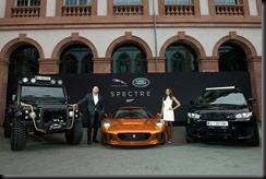 Global unveiling of Jaguar Land Rover Bond Cars gaycarboys (2)