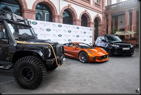 Global unveiling of Jaguar Land Rover Bond Cars gaycarboys (3)