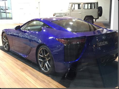 Lexus LFA sydney city toyota GAYCARBOYS (2)