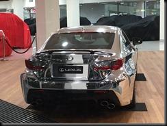 Lexus RCF in silver wrap ayt sydney city toyota  GAYCARBOYS (1)