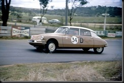 Buckle B Foley Citroen ID19 Bathurst Six Hour Classic 1962 - Courtesy Autopics gaycarboys