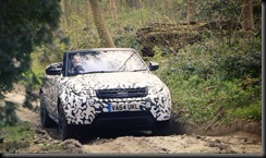 Range Rover Evoque Convertible testing at Eastnor gaycarboys (1)