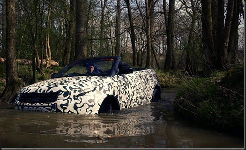 Range Rover Evoque Convertible testing at Eastnor gaycarboys (2)