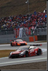 #1 MOTUL AUTECH Nissan GT-R NISMO GT500 of Ronnie Quintarelli and Tsugio Matsuda wins the 2015 GT500 Super GT Championship and #10 GAINER TANAX Nissan GT-R NISMO GT3 of Andre Couto and Katsumasa Chiyo wins 2015 GT300 Super  (4653090)